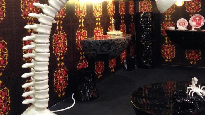 Color, creativity run riot at contemporary furniture fair