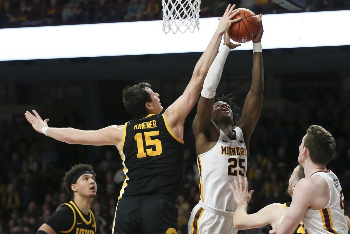 Iowa Minnesota Basketball