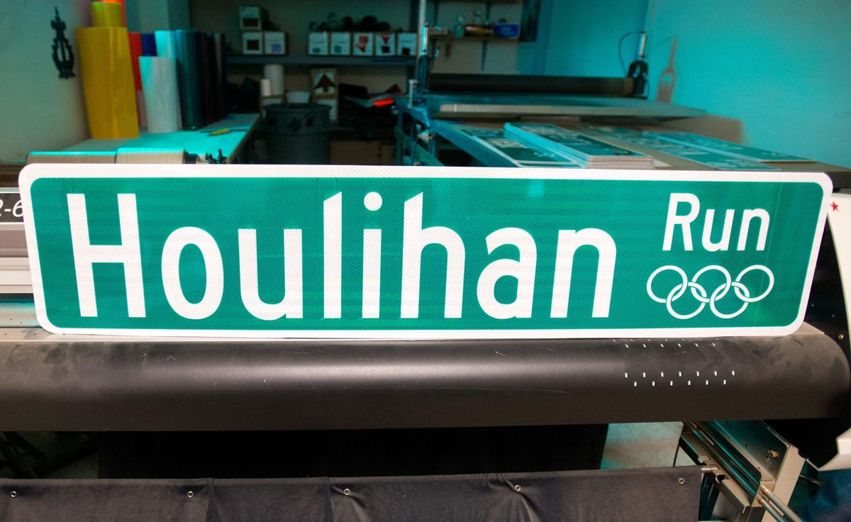 Houlihan Run Sign