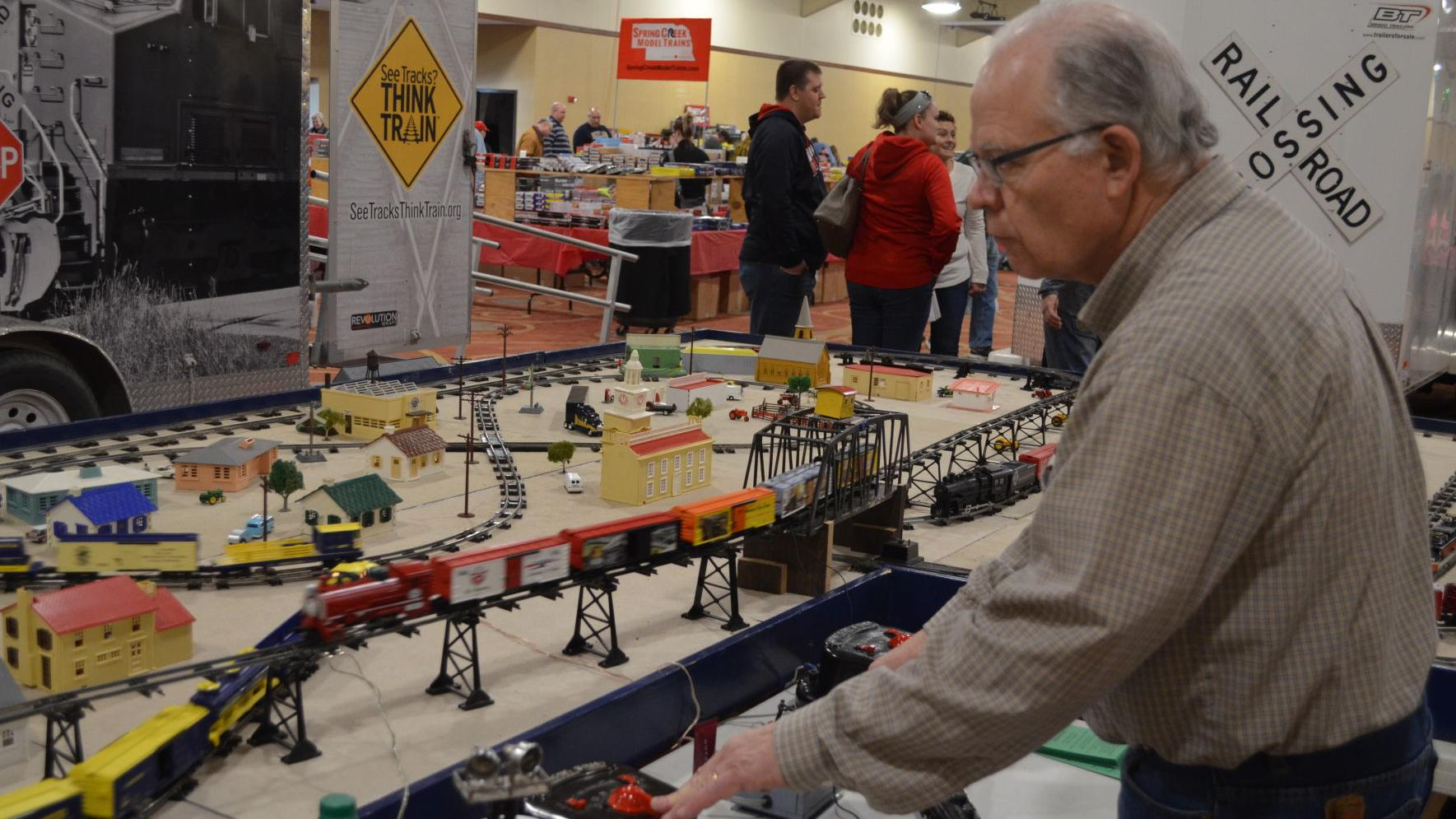 Train Show enthusiast talks about his passion for model trains