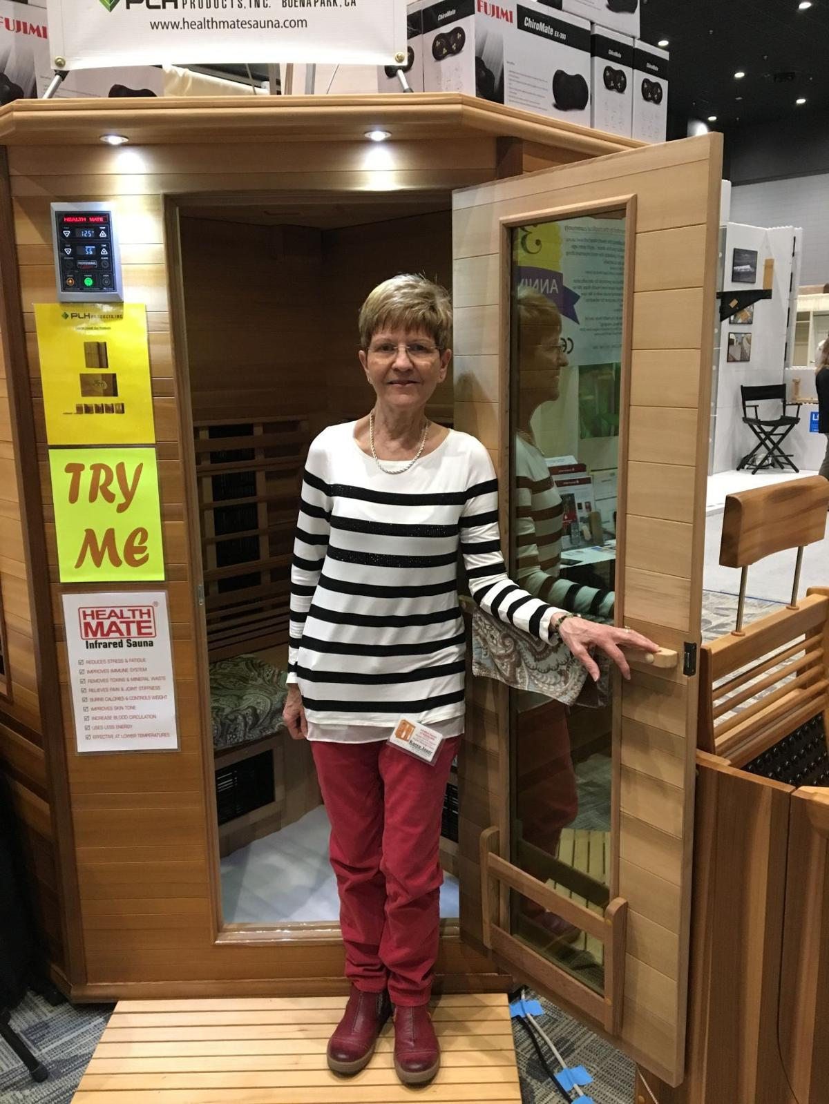 Full-sized sauna