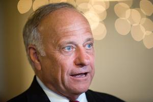 In town hall, Steve King touts opening up trade, says he's puzzled about Trump wind turbine comments