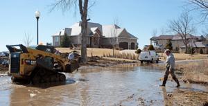 Flood update: Missouri to crest Sunday, Hornick still evacuated, some roads damaged
