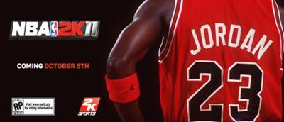 Michael Jordan the greatest of all time to grace the cover of NBA 2K11