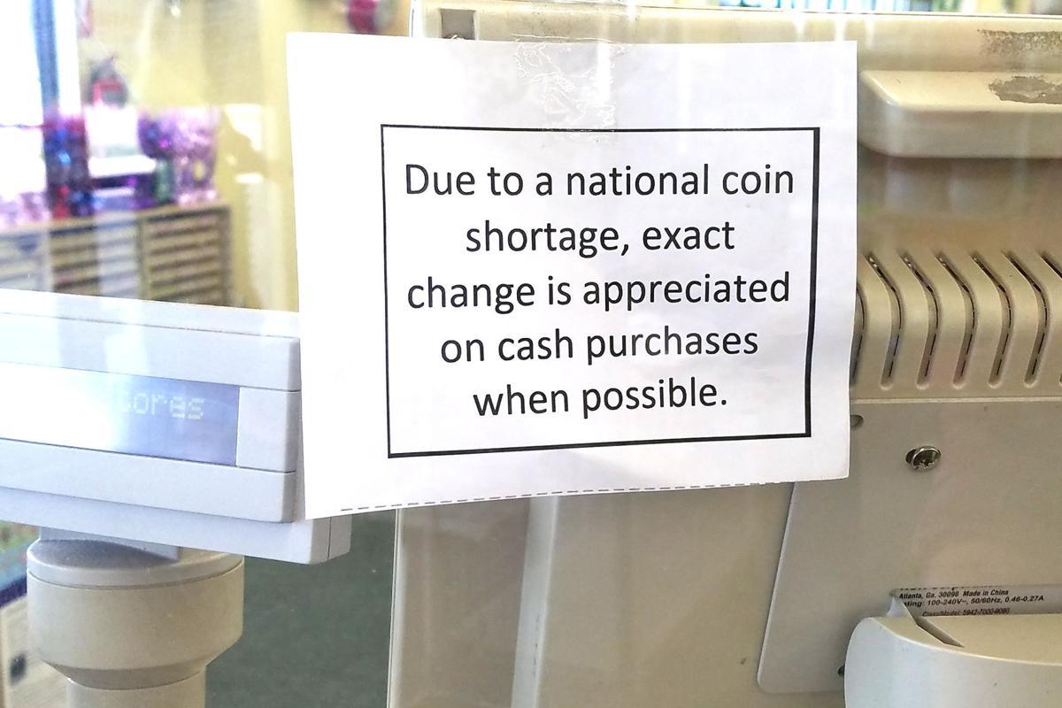 Coin shortage photo