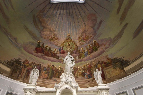 St. Joseph Catholic Church nears restoration completion after its fire.
