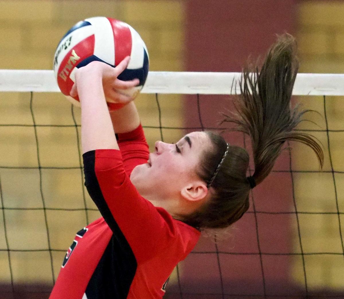 Northwestern at Morningside volleyball