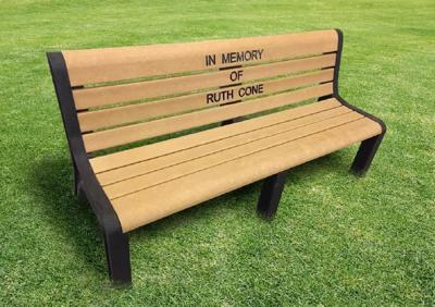 City Looks For Donors For Cone Park Benches Government And