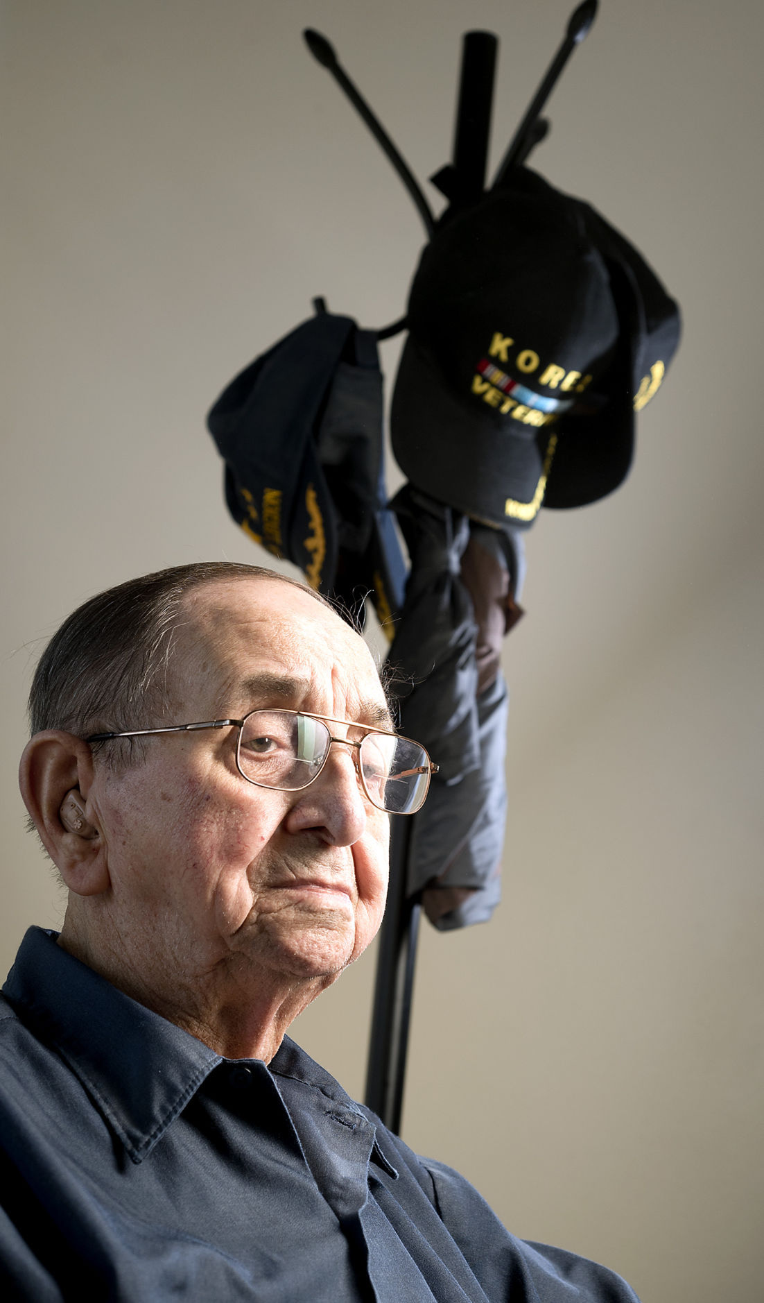 Korean War veteran Lawrence Parrish