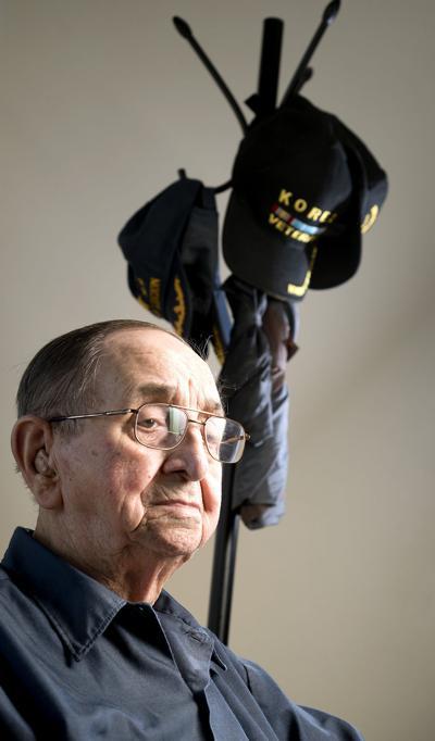 Korean War veteran Lawrence Parrish