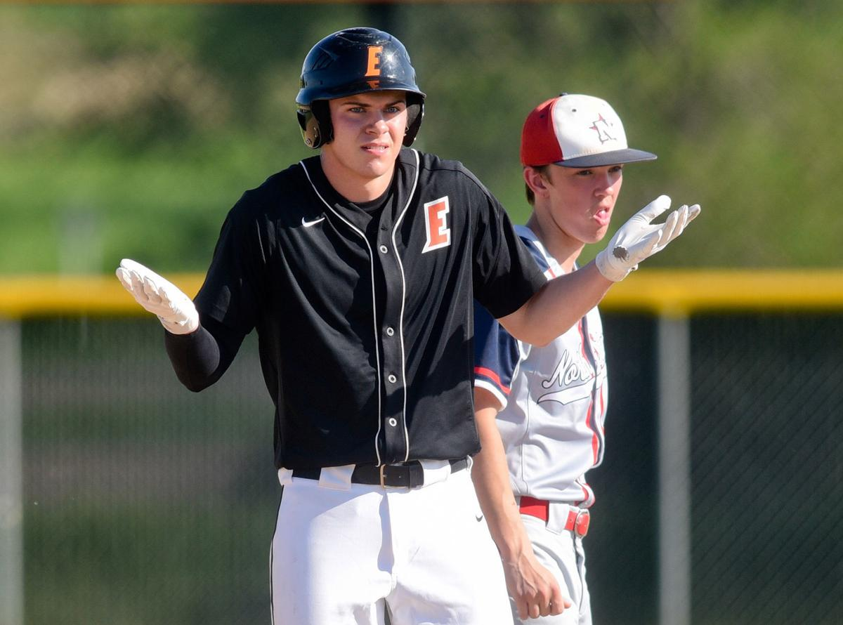 Baseball Sioux City North at Sioux City East