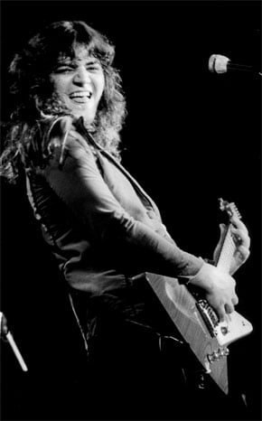 Guitarist Tommy Bolin pictured in the early 1970s. The annual Tommy Bolin Music Festival this weekend aims to reshape the stigma about his drug and alcohol addiction by helping others.