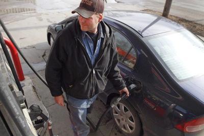 Customers get gas