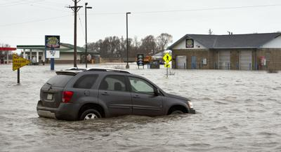 Moville flooding