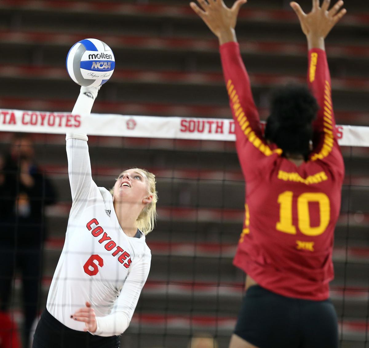 Iowa State at South Dakota volleyball