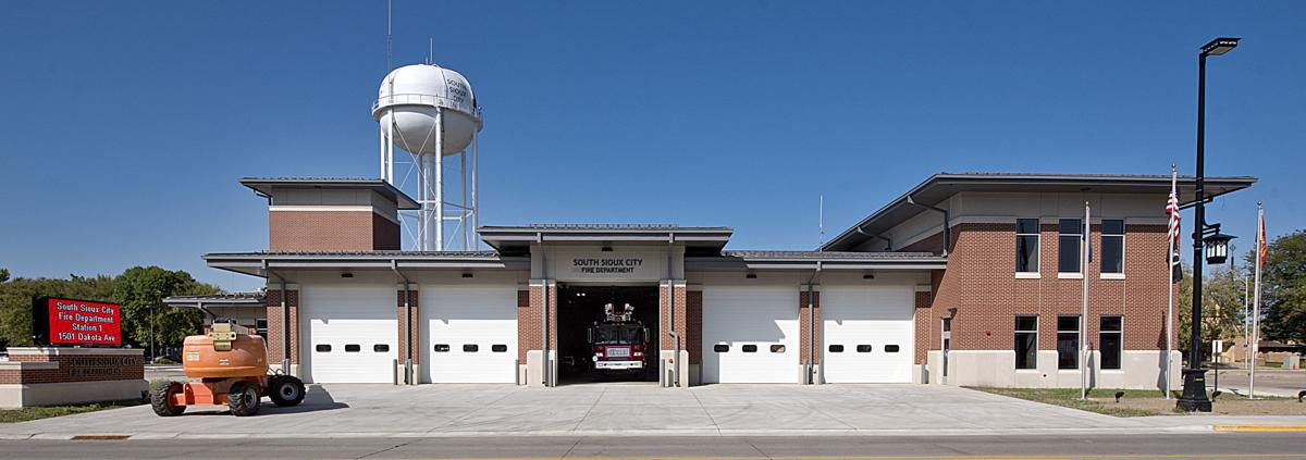 New South Sioux City fire station