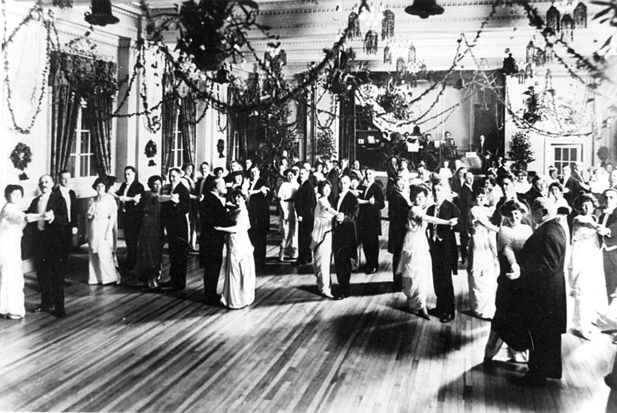 Martin Hotel ballroom 1919