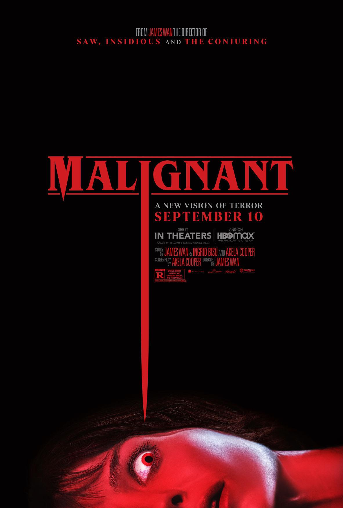 malignant movie poster