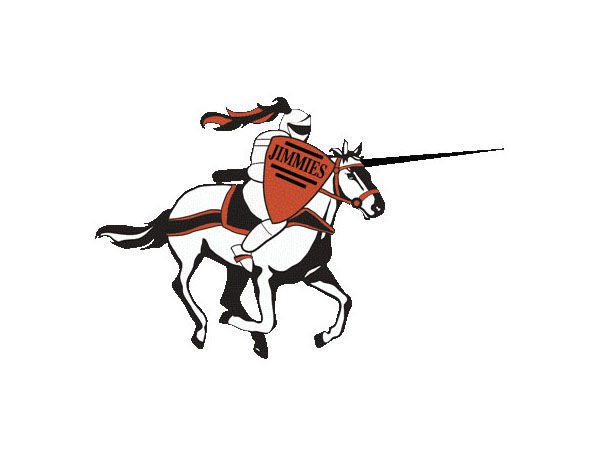 NAIA University of Jamestown Jimmies logo