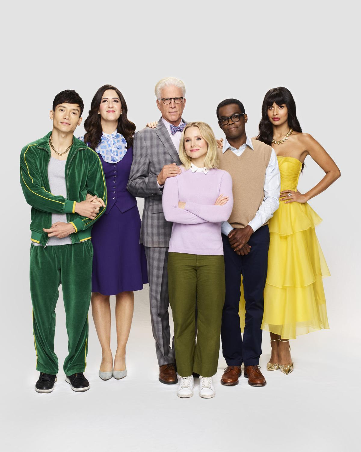 Kristen Bell Says It S Hard Saying Goodbye To The Good Place Television Siouxcityjournal Com How tall and how much weigh kristen bell? kristen bell says it s hard saying