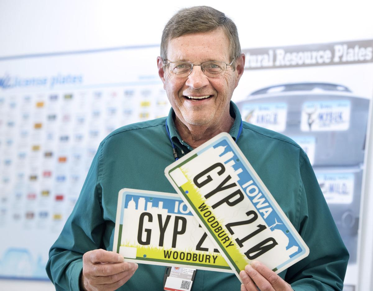 New Iowa license plates