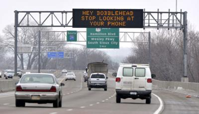 IDOT snarky message board
