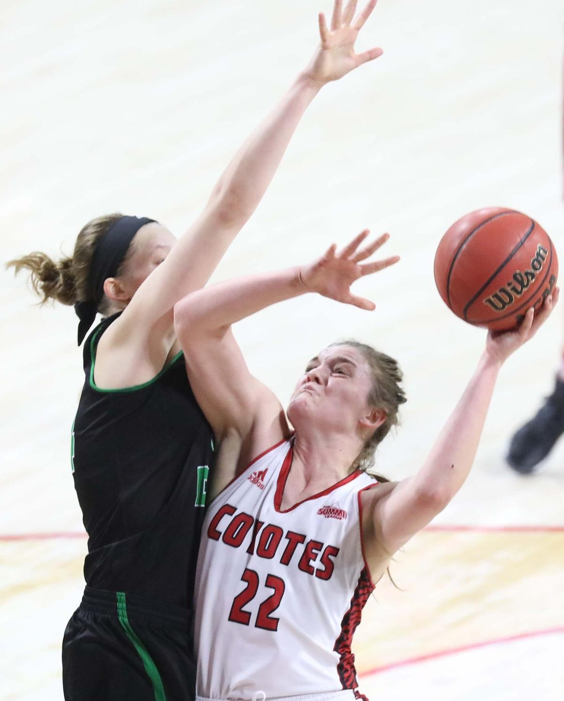 North Dakota at USD WNIT basketball