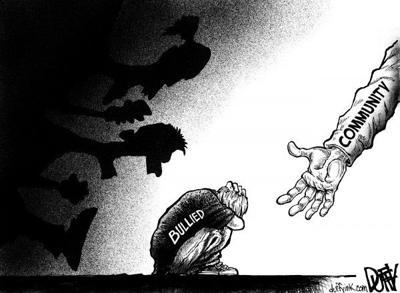 Duffy Bullying cartoon