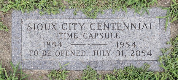 Sioux City time capsule