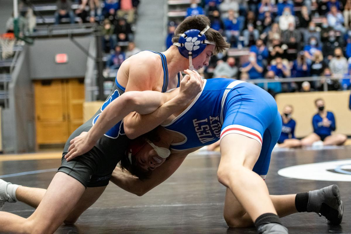West Sioux vs Woodbury Central wrestling