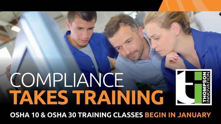 Thompson Innovation OSHA 10 Training