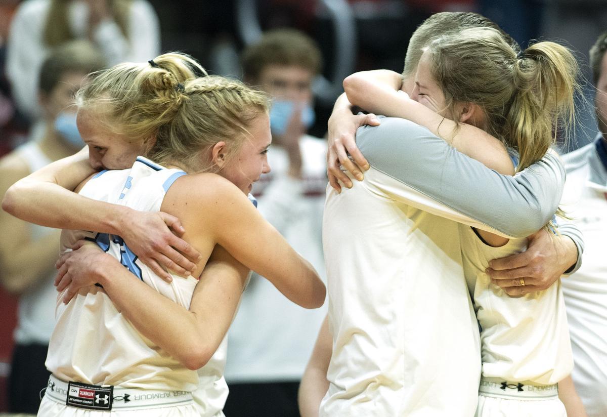 West Lyon vs Unity Christian girls state basketball