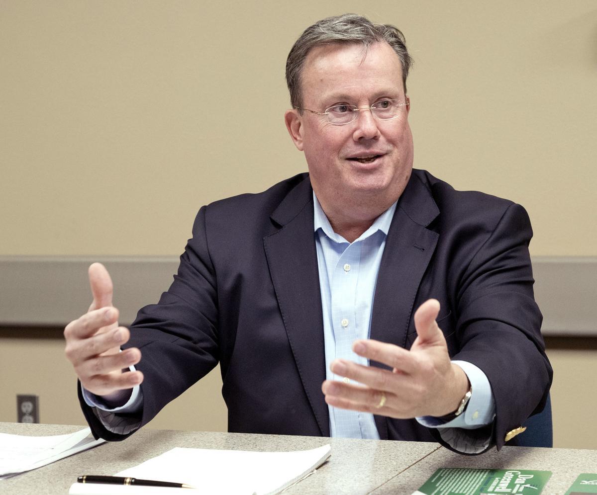 School board candidate Dan Greenwell