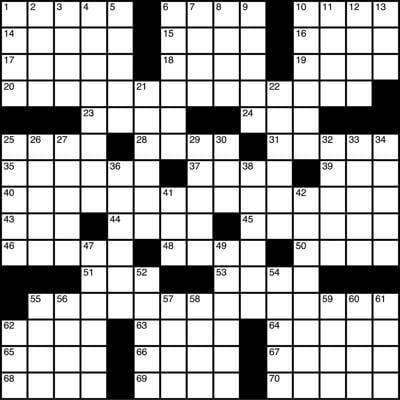 Crossword grid