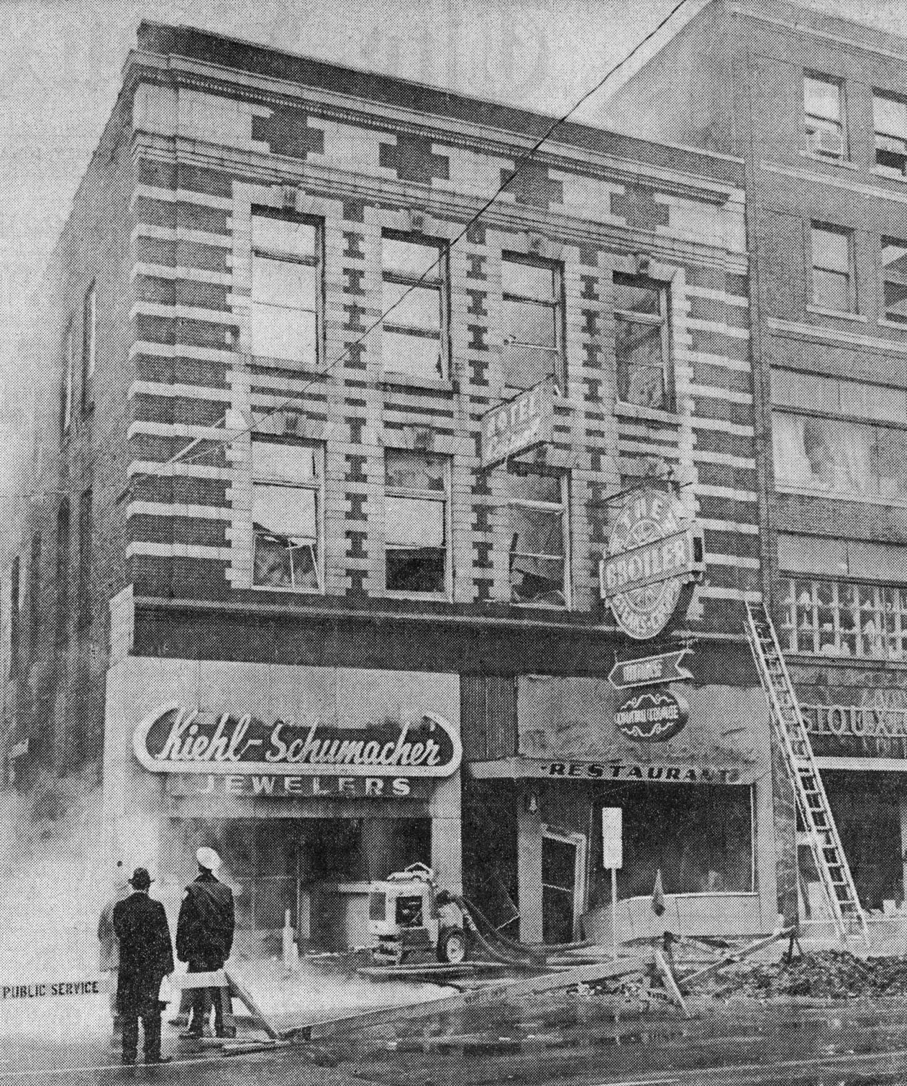 Central Hotel Fire, 1968
