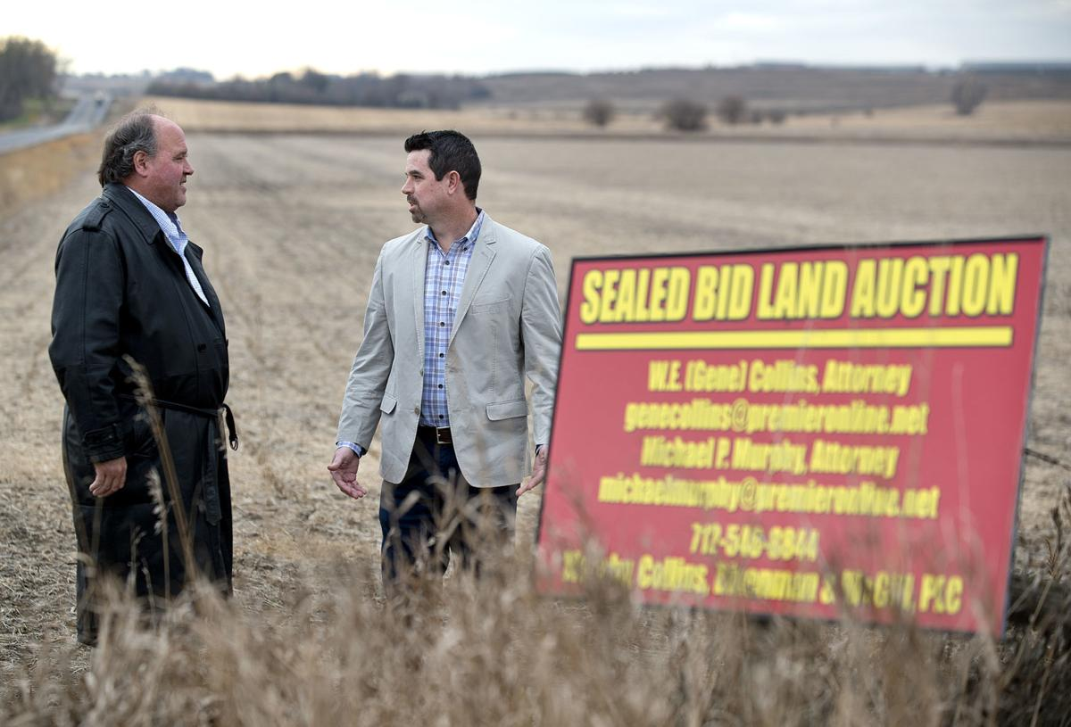 Sale of nearly 500 acres of farmland in Plymouth County to
