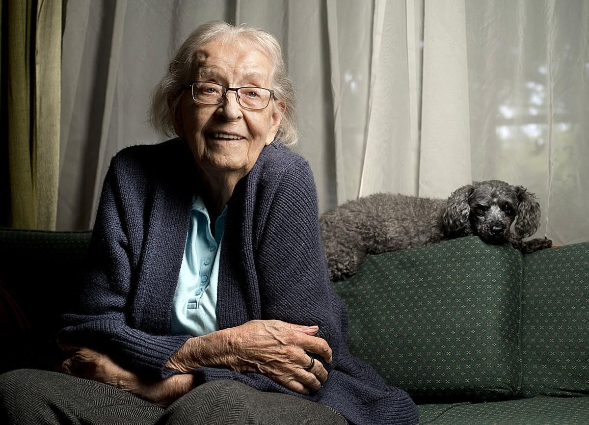 Female Veteran Marjorie Culligan