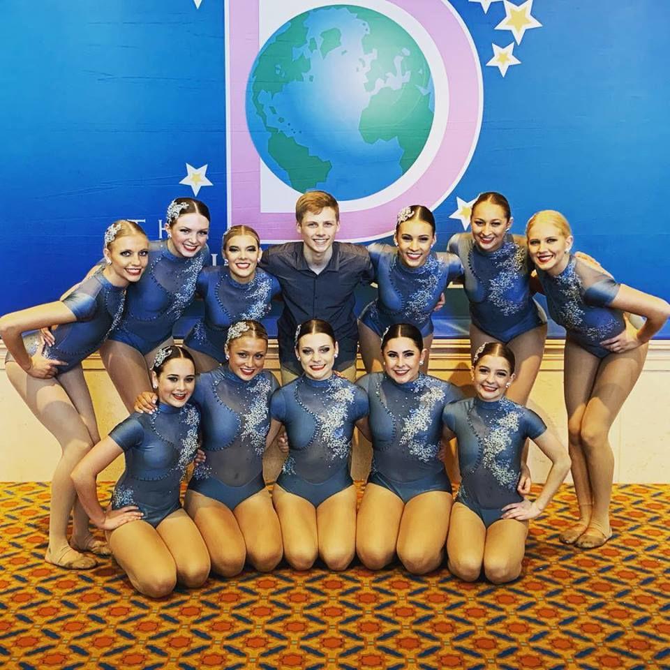 5678! Dance Studio senior contemporary dancers