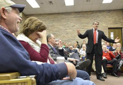 Rick Perry Morningside College speech