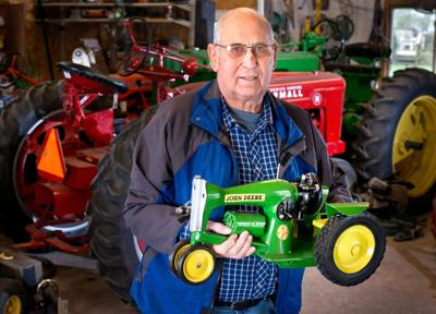 Craftsman turns sewing machines into tractors | Nebraska