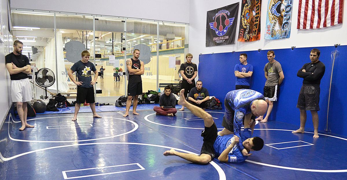 Weekender -- Jiu Jitsu class with Mike Bushby