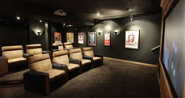 Man Cave Store Sioux City : Home theater the ultimate man cave for film buffs gamers