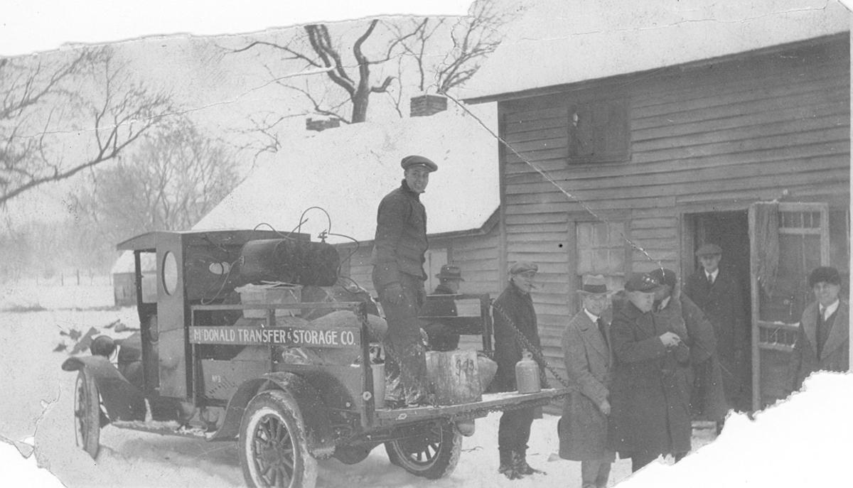 100 years ago: Moonshine evidence