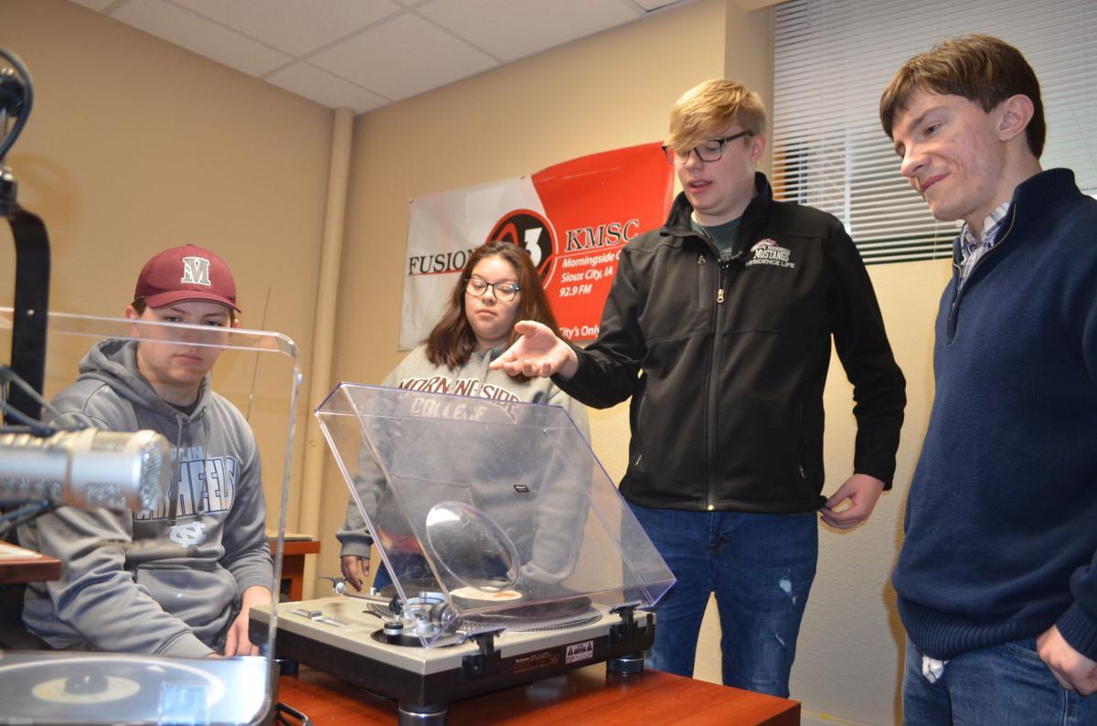 Morningside radio students
