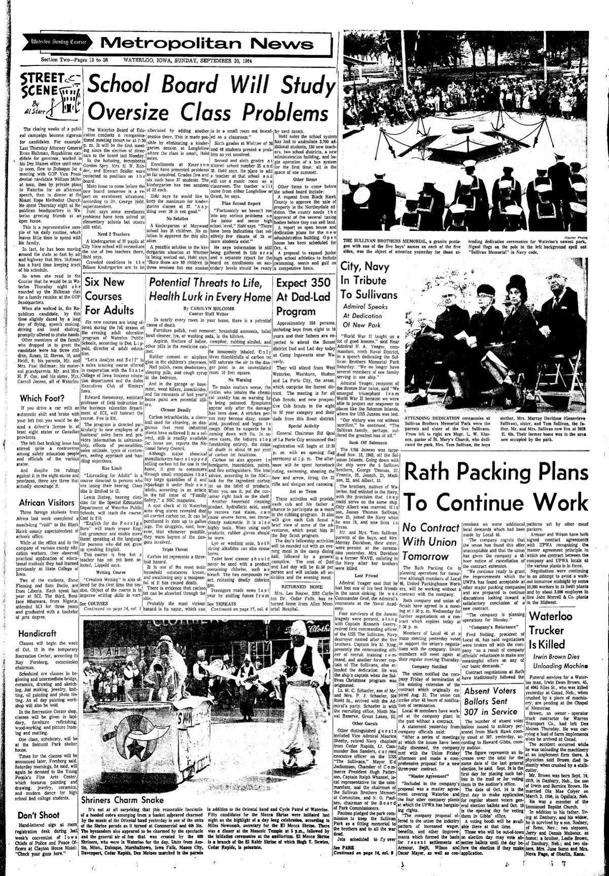 Courier Sept. 20, 1964