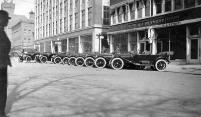 Wetmore Auto Dealership, ca. 1915