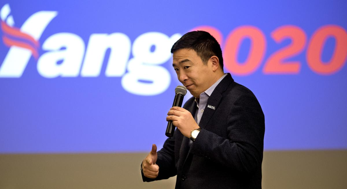 Andrew Yang Sioux City campaign #2