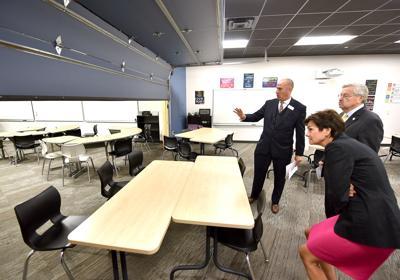 Terry Branstad Sioux City Schools press conference