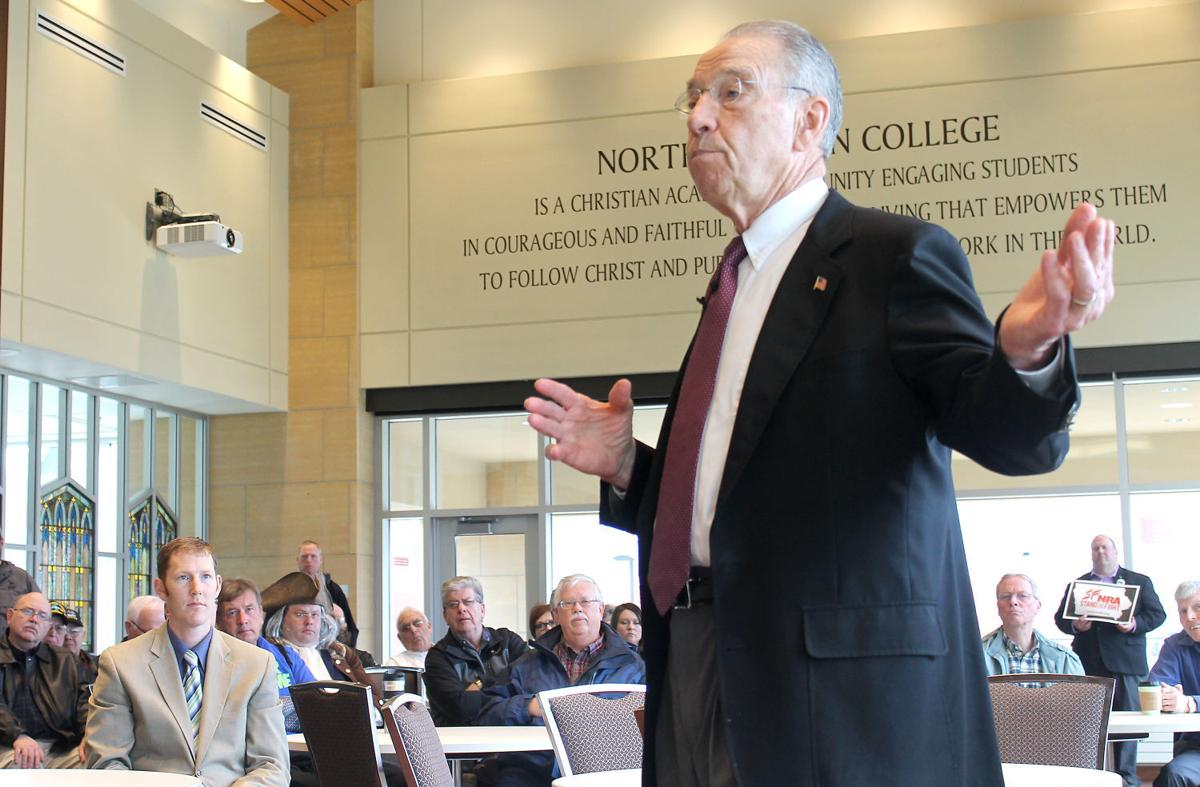Charles Grassley Orange City meeting