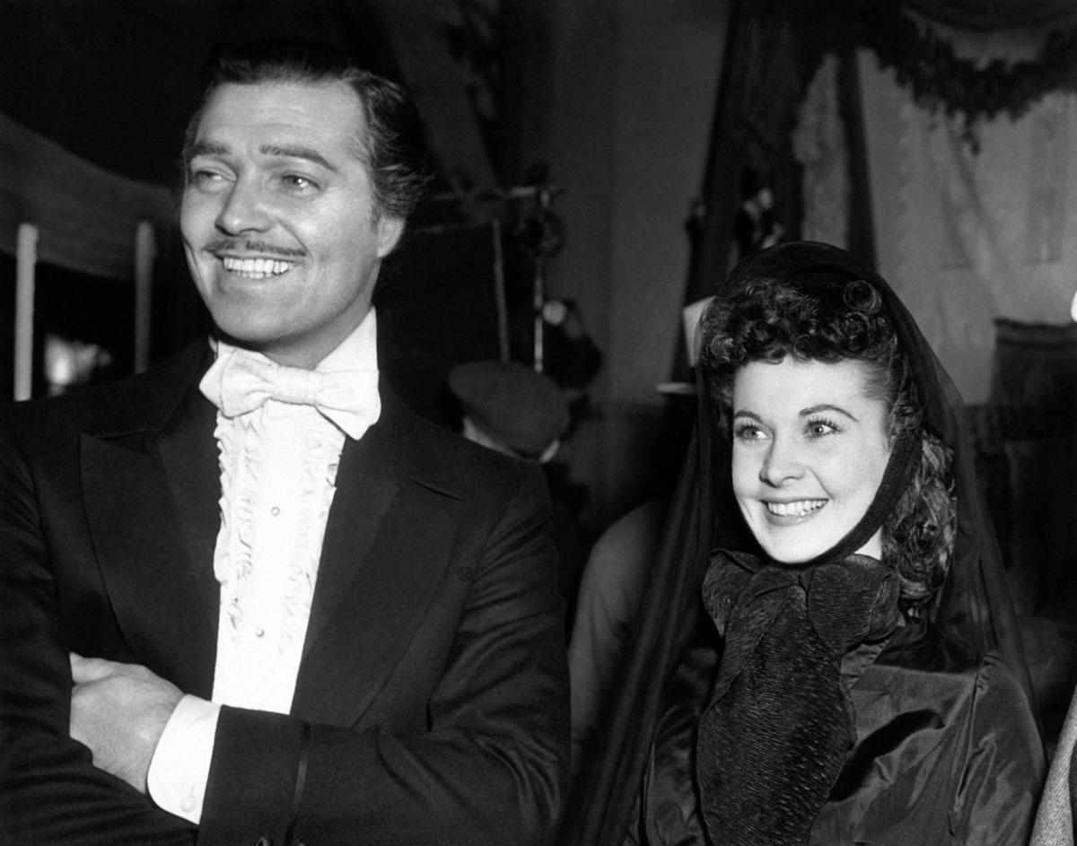 USA Clark Gable and Vivien Leigh